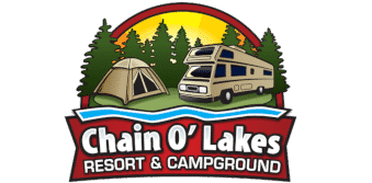 Chain O' Lakes Logo